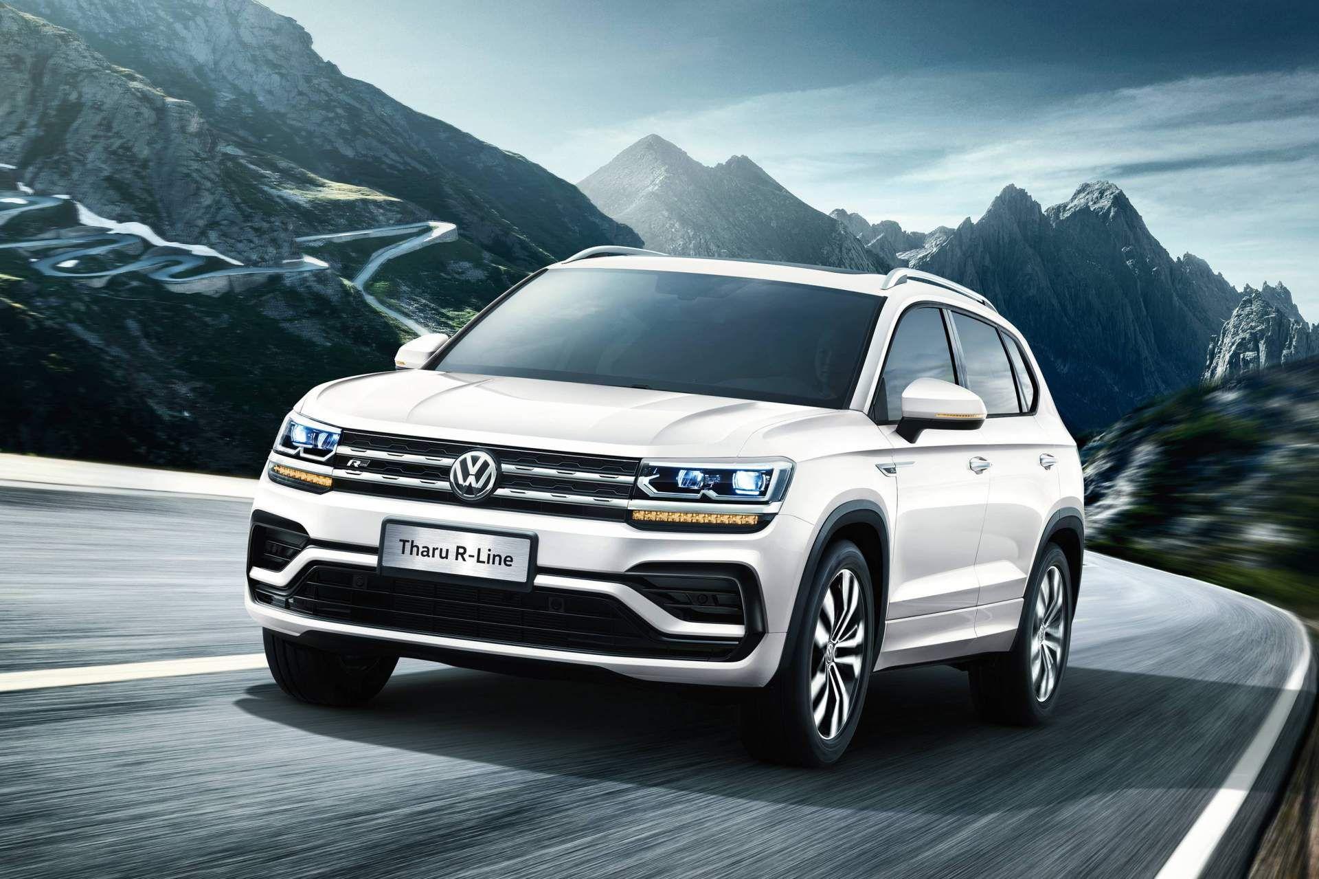 New Vw Tarek Crossover Coming To Slot Beneath The Tiguan Carscoops Volkswagen Volkswagen Passat Compact Crossover