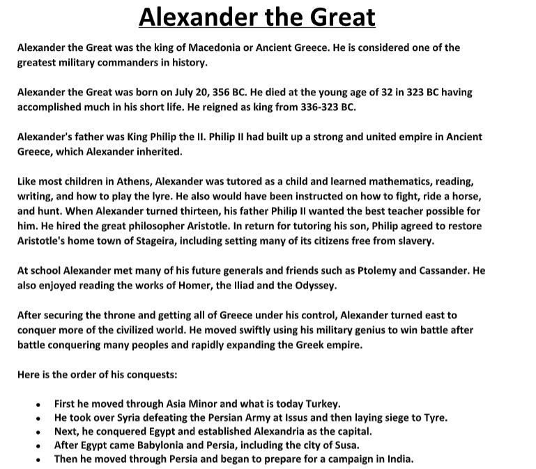 Alexander The Great Biography Alexander The Great Alexander The
