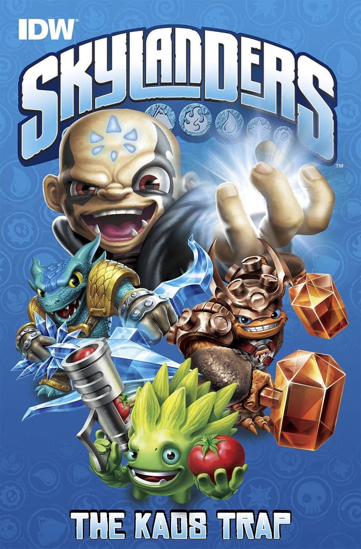 Skylanders The Kaos Trap Price 9 99 Skylanders Favorite Character Comic Books