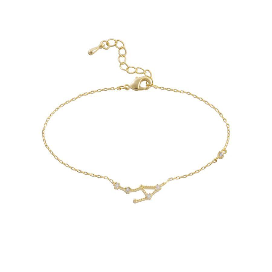 Libra Zodiac Gold Bracelet Zodiac Bracelets and Gold