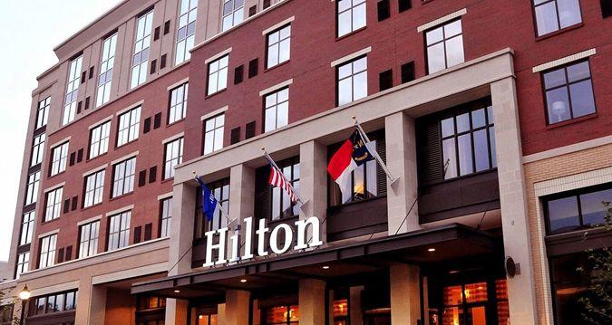 Hilton Asheville Biltmore Park, Asheville Nc Hotel - Exterior View Front