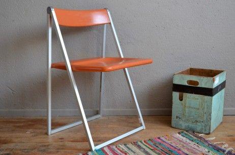 Chaise Interlubke L Atelier Belle Lurette Renovation De Meubles Vintage Chaise Chaise Pliante Meuble Vintage