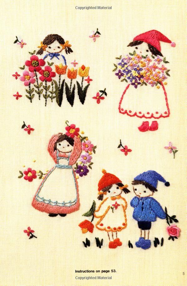 Amazon.com: An Embroidery Sampler (9780870407581): Ondori Publishing ...