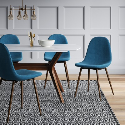 Copley Upholstered Dining Chair Teal Project 62 Size 2 Pack