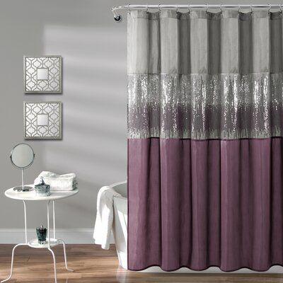 Valor Single Shower Curtain Size 72 W X 72 L Color Gray