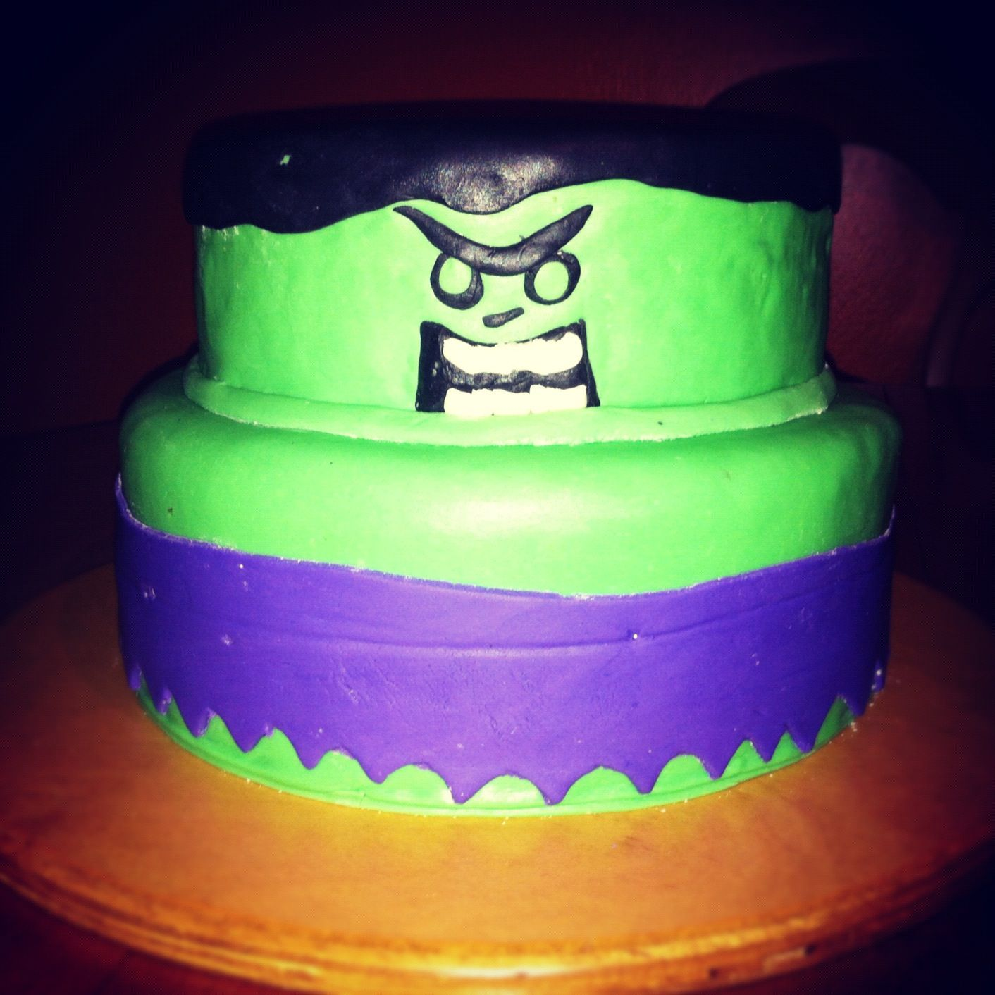 The Incredible Hulk Birthday Cakes By Alynda Cone Mellwee My Style