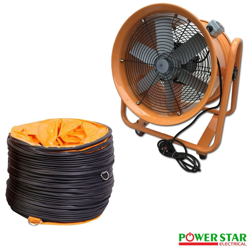 Portable Ventilator Axial Blower Ventilation Extractor