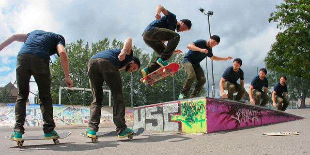 Tutorial How To Create Action Sequence Shots Using Composite Photography Composition Photography Skateboard Photography Sequence Photography