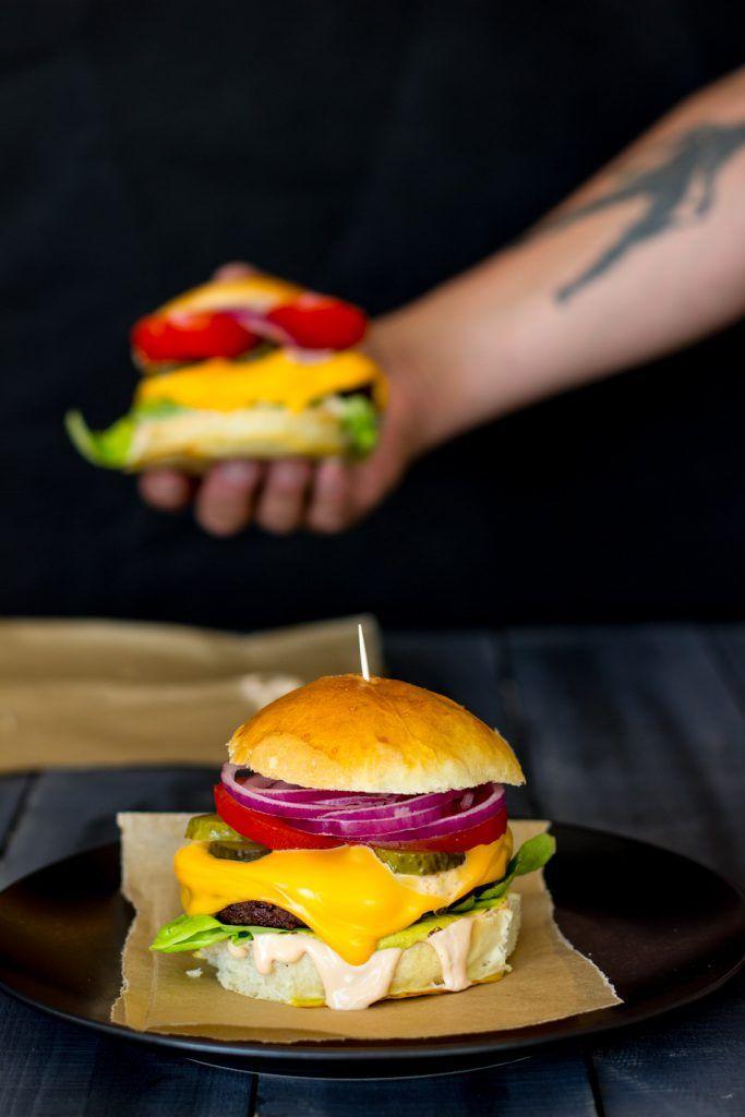 Ultimate Burger Superherkut-kirjasta