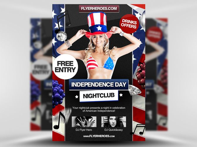 Free Free 4th July Independence Day Flyer Template Httpwww