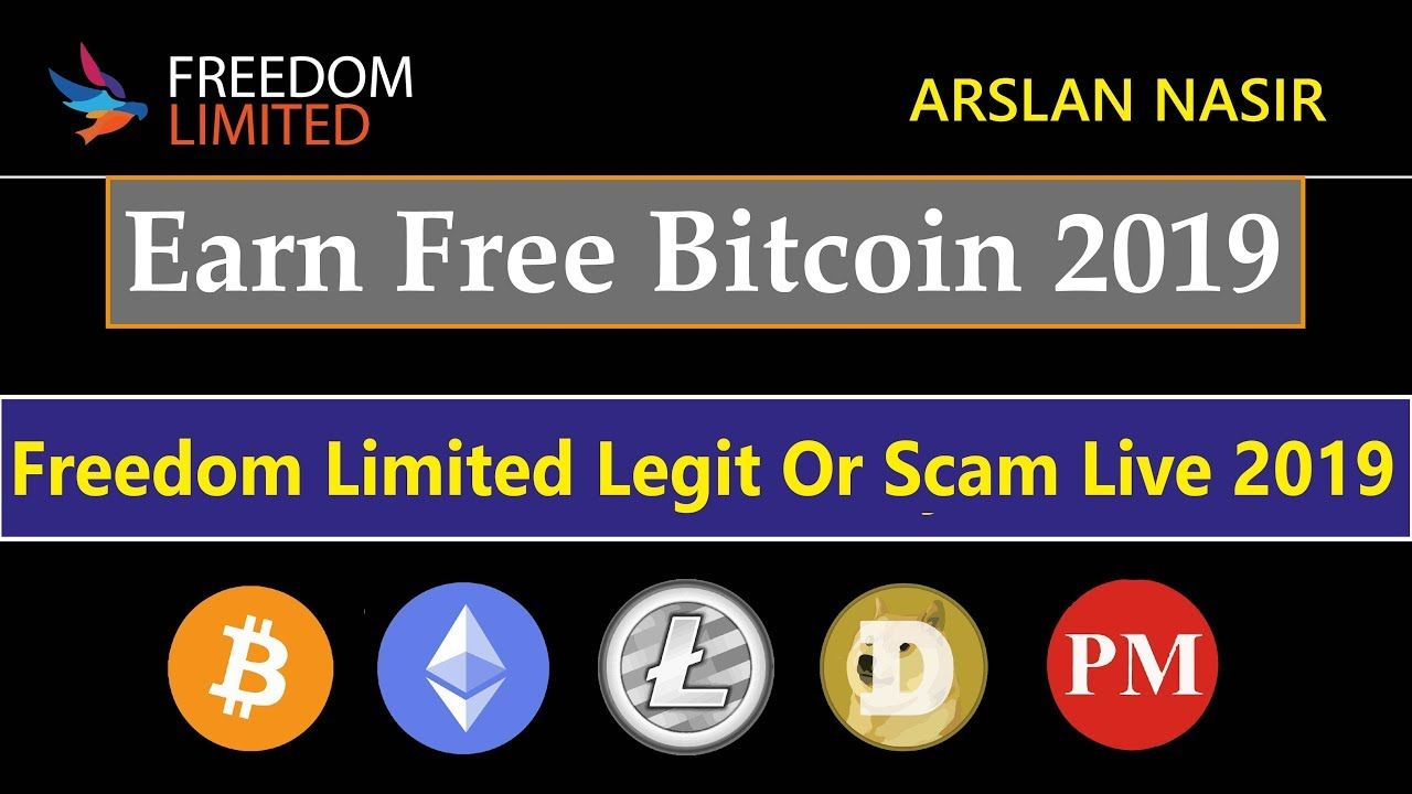 Freedom Limited Free Bitcoin Cloud Mining Site Legit Or Scam Live -