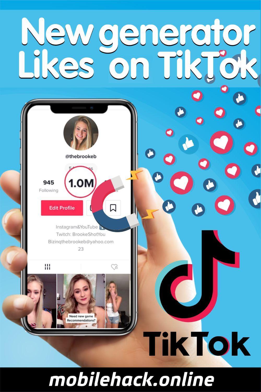 New Generator Likes On Tiktok Free Followers Free Instagram Instagram Followers