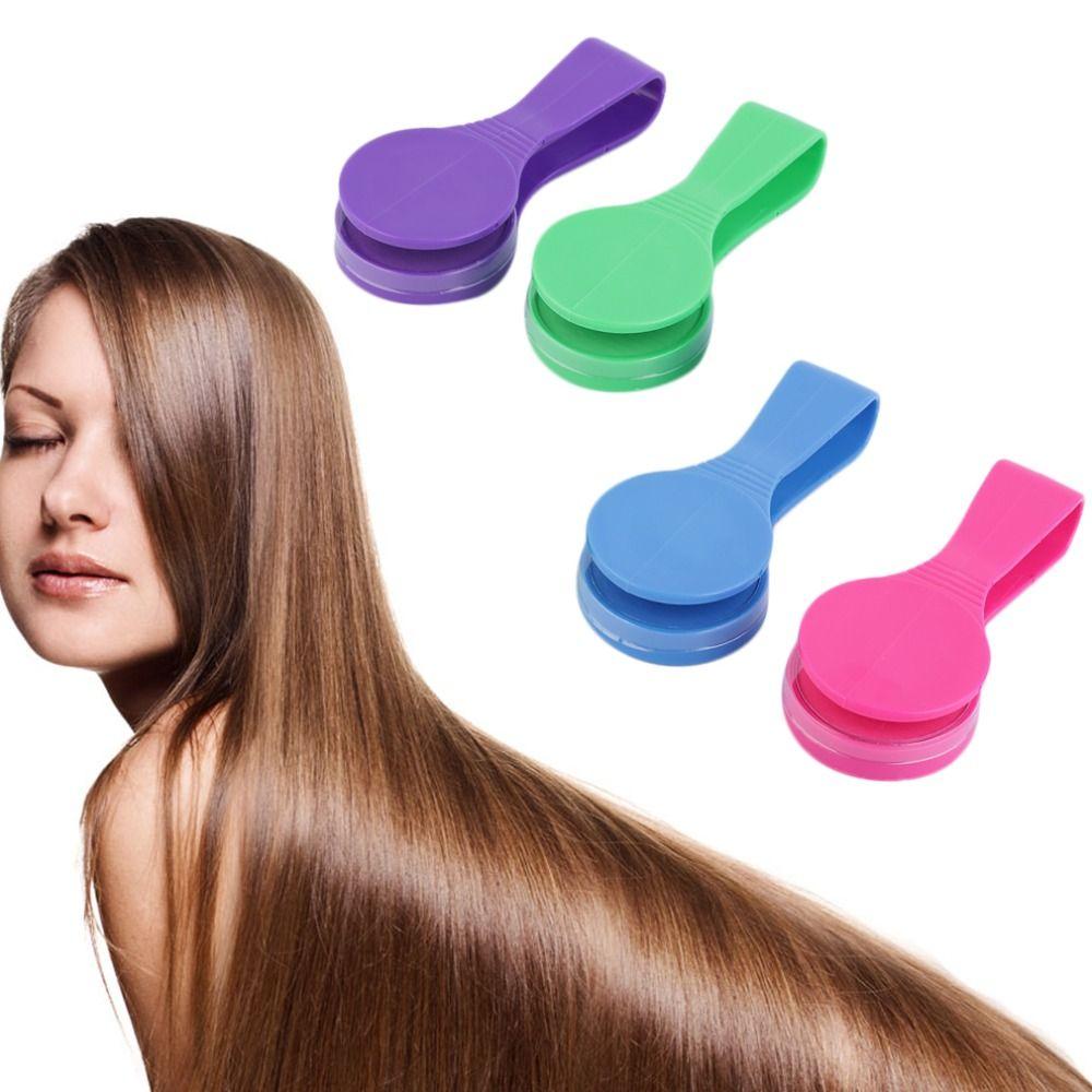4pcs Temporary Hair Chalk Dye Hair Colour Clip Powder Salon Easy Diy Kit Brand New And High Quality Hair Dye Colors Hair Chalk Hair Color