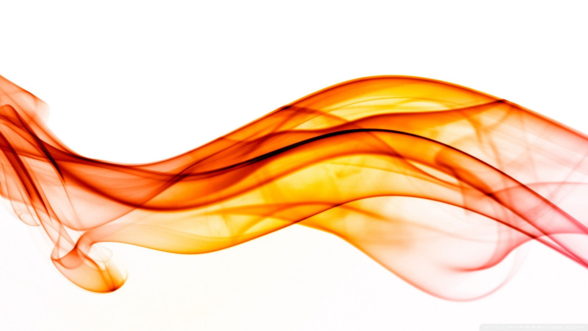 orange smoke Abstract backgrounds, Orange wallpaper