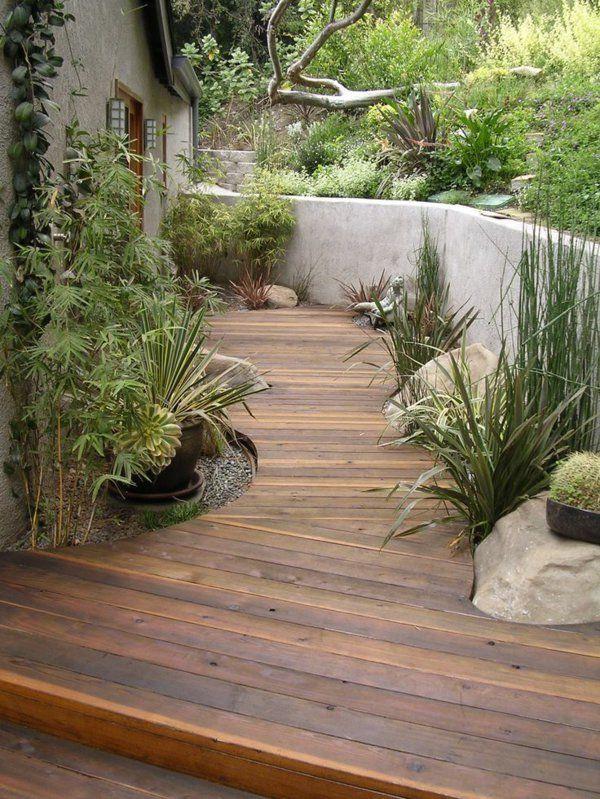 Allées de jardin créatives pour votre extérieur Outdoor spaces and