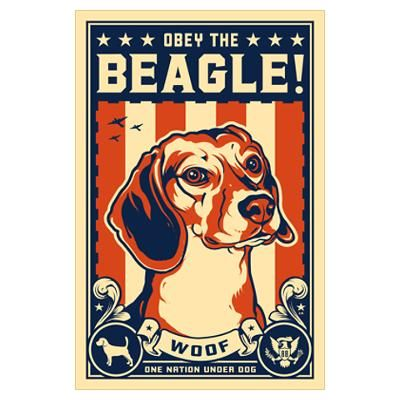 Obey The Beagle American By Admin Cp507270 Dog Training Beagle
