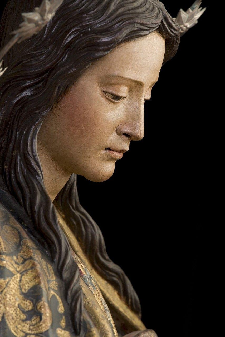 Juan Martínez Montañés Cristo de la Clemencia o de los Cálices (attribution) - Immaculate Conception (la Purisma), ca. 1628     Juan Martínez Montañés was known as 'the Michelangelo of Wood'