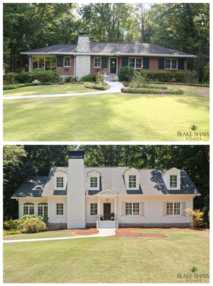 before and after 2nd story ranch addition wow humble abode in