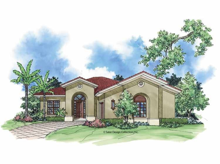 Eplans Mediterranean House Plan Ultimate Outdoor Living 1727 Square Feet And 2 Bedrooms