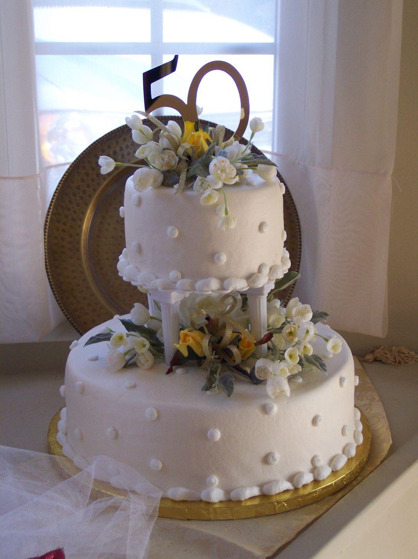 50th wedding anniversary cakes ideas