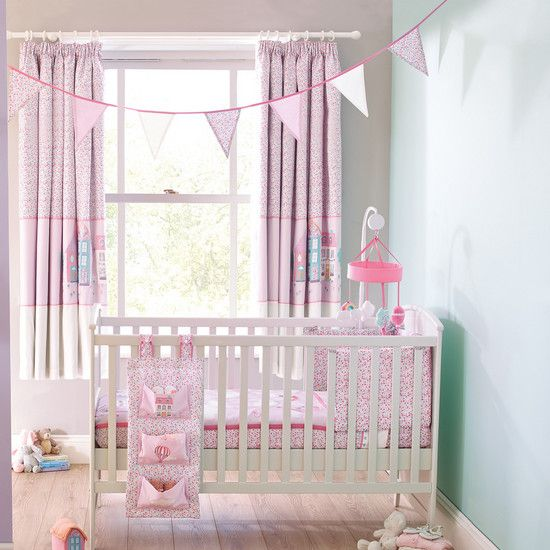 Kids Up And Away Collection Coverlet And Bumper Dunelm
