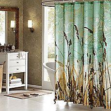 Art In Motion Fields Shower Curtain Unique Shower Curtain