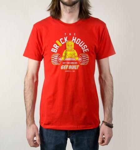 aa6eda5af460e4 The Brickhouse Lego Gym Parody T-Shirt
