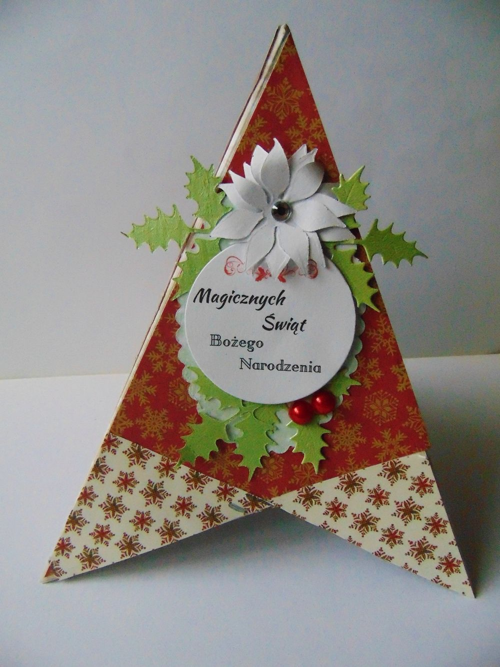 Teepee Card Fancy Fold Cards Christmas Cards Cards
