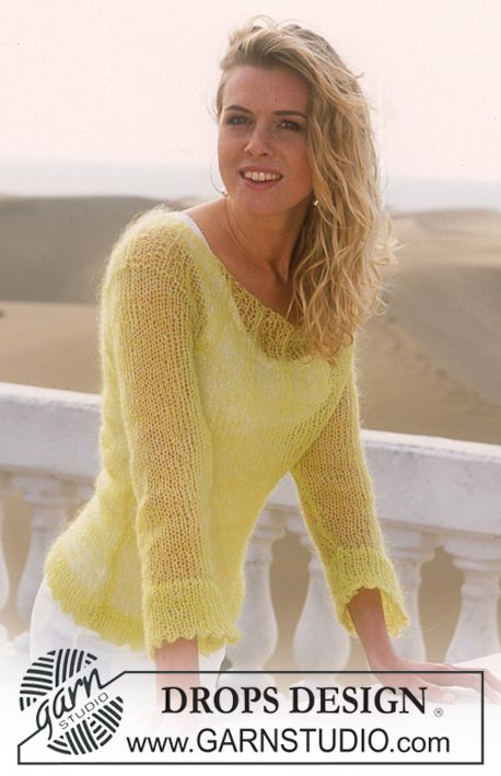 stickad tröja med flätor gratis mönster