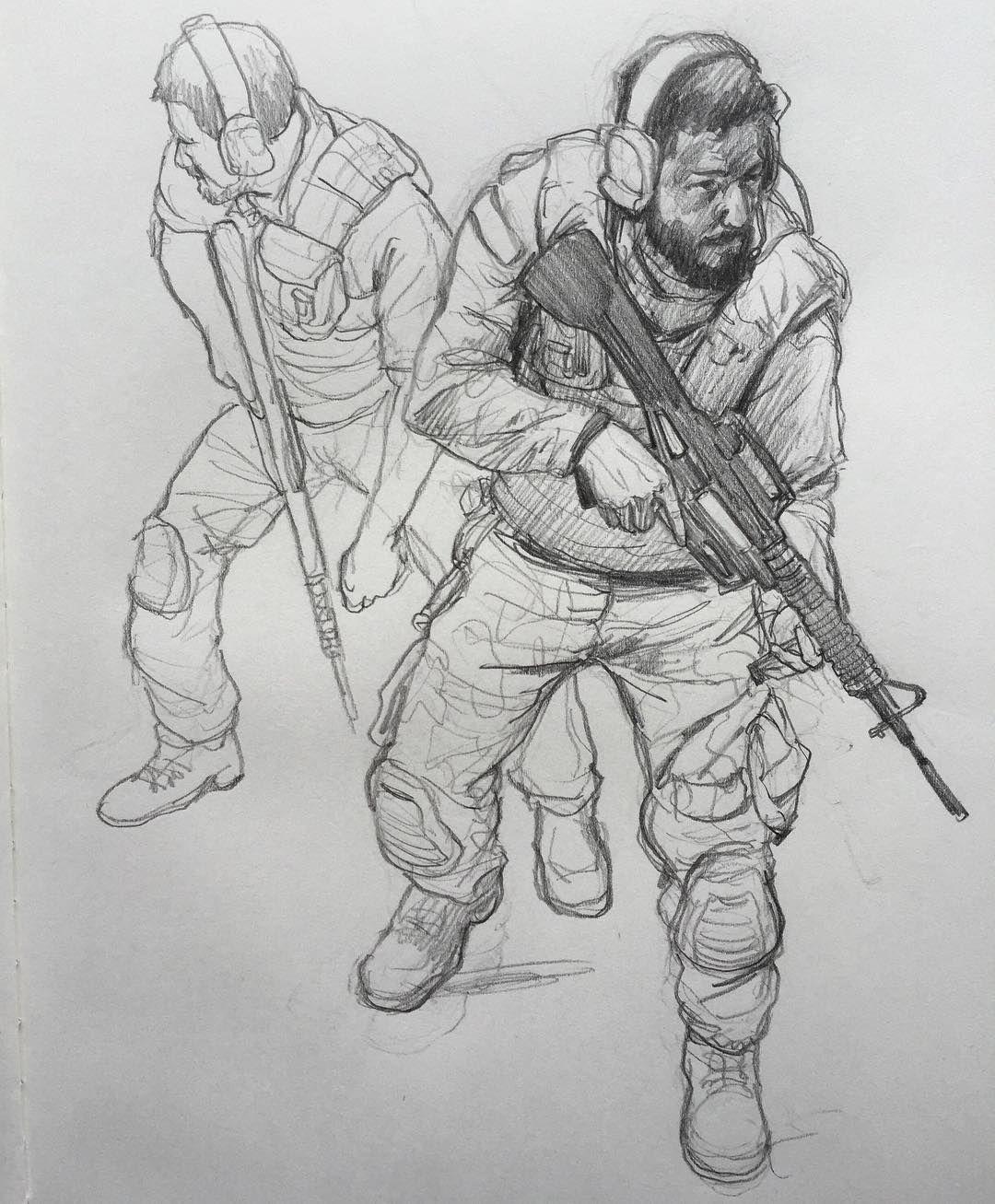 Soldier sketch drawing doodle pencildrawing pencilsketch pencil sketch sketching sketchbook art dailydoodle soldier gun warrior