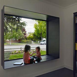 Super Steel Box With Window Seat In 2019 Modern Window Seat Ibusinesslaw Wood Chair Design Ideas Ibusinesslaworg