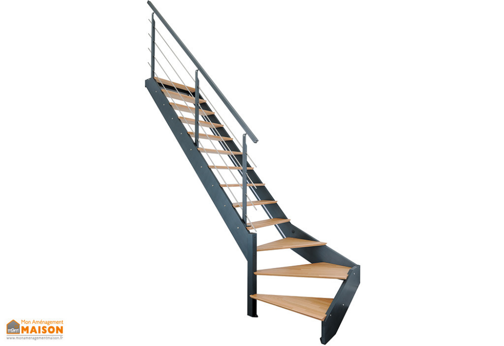 Epingle Par Mon Amenagement Maison Sur Escaliers Escalier Quart Tournant Escalier Quart Tournant Gauche Escalier