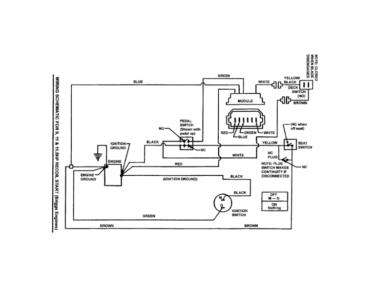 Solenoid Wiring Diagram Riding Mower For Starter Lawn