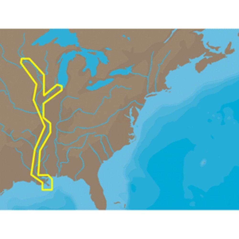 CMAP NT NAC Mississippi River DeltaSt Paul Furuno FP - Mississippi river delta map