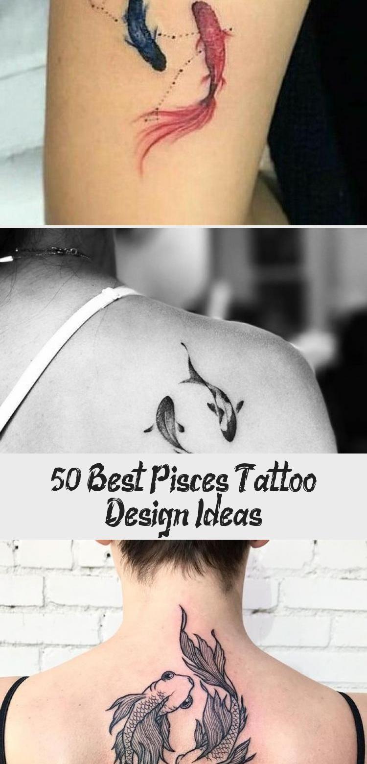 Photo of 50+ Best Pisces Tattoo Design-Ideen – Tattoo