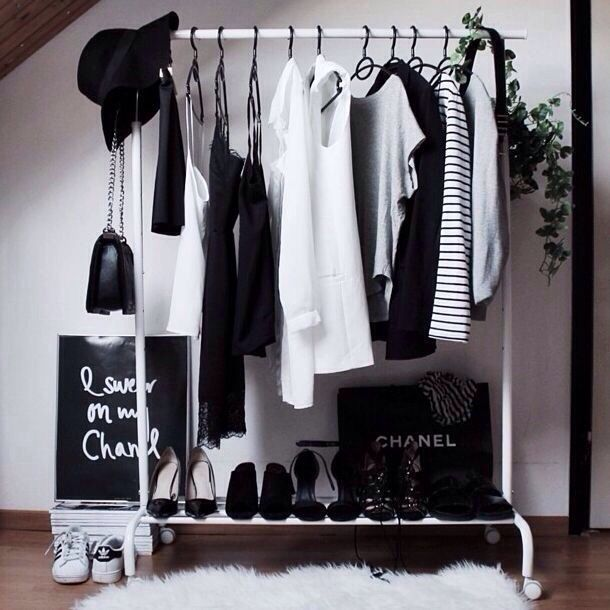 clothing, clothes hangers, clothing rack, accessories, shoes, etc.. | Rak  baju, Lemari pakaian, Dekorasi rumah buatan sendiri