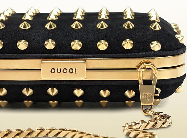 Gucci - broadway chain stud evening bag  9f0b0558c6b07