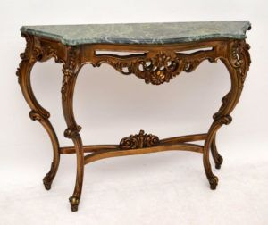 Antique Console Table Marble Top httpbenchforuminfo