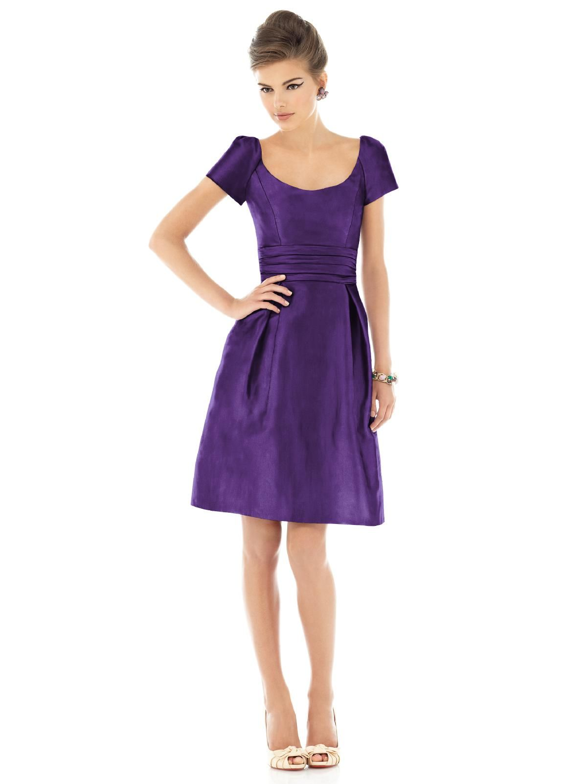 Alfred Sung Style D526 #purple #bridesmaid #dress | PURPLE ...