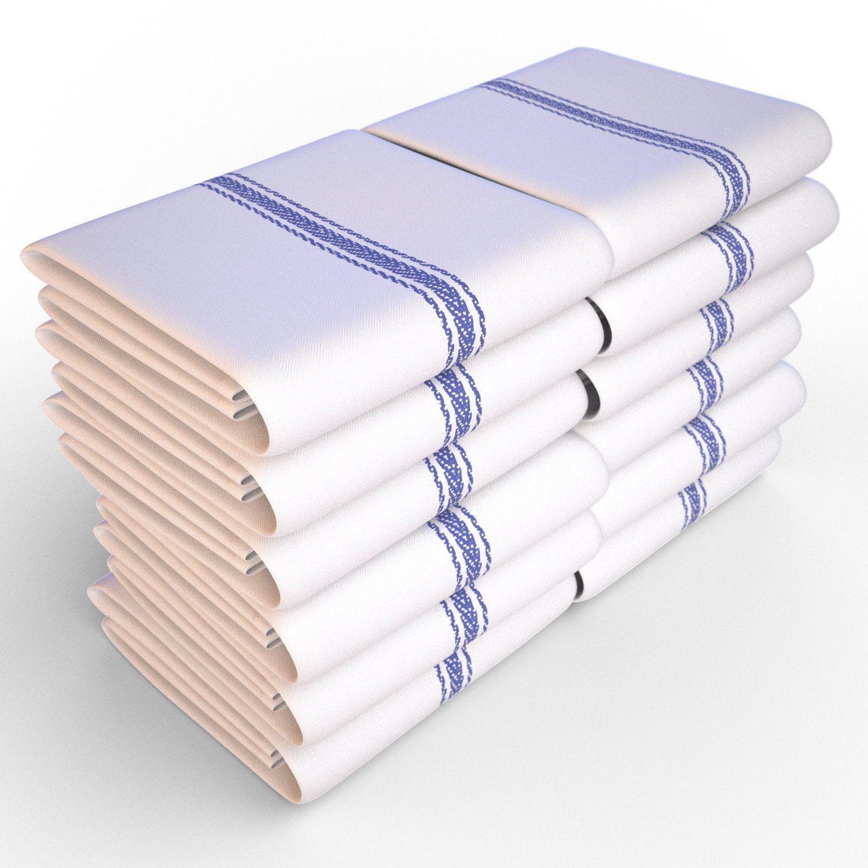 Restaurant Kitchen Towels keeble outlets one dozen (12) kitchen dish towels – white – high