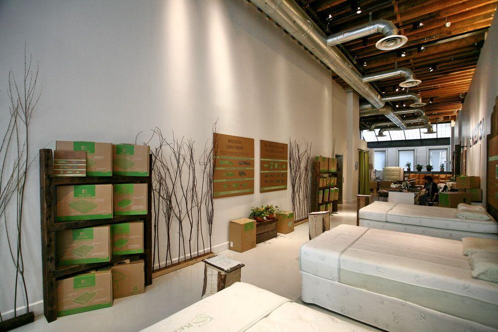 Better Sleep Better Life Keetsa Eco Friendly Mattresses Mattress Showroom Keetsa Retail Store Design