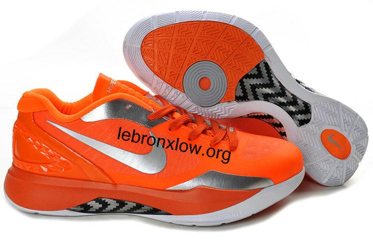Hyperdunk 2011 Low Orange Silver 454138 603