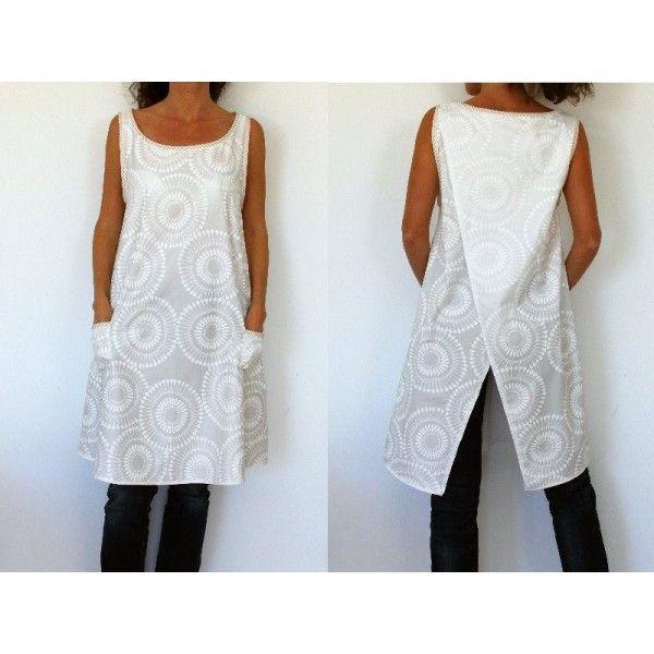 Patron de couture - Robe tunique femme | Travaux d\'aiguilles couture ...