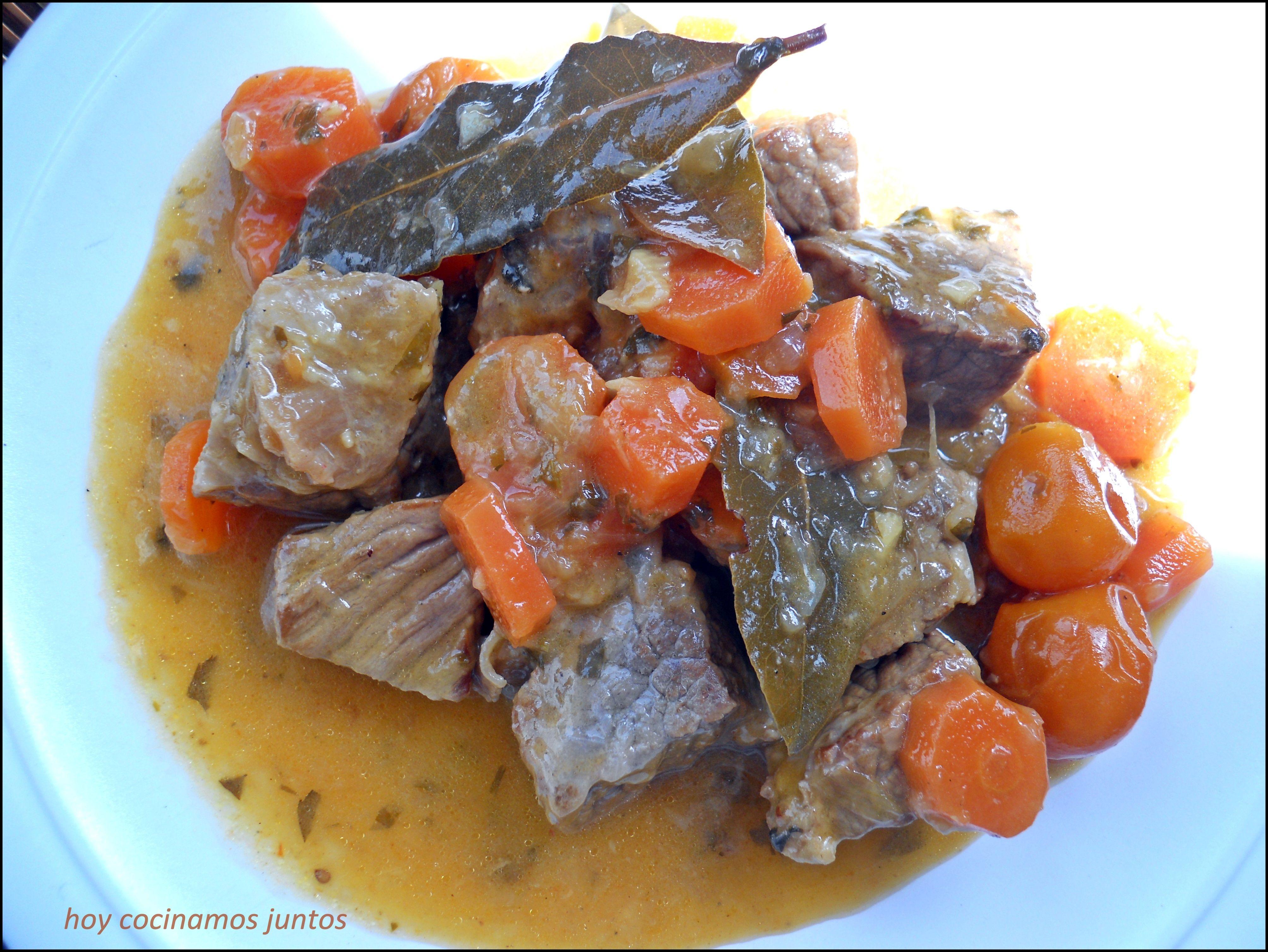 Estofado De Ternera Con Ras El Hanout Recetas 1 Stew