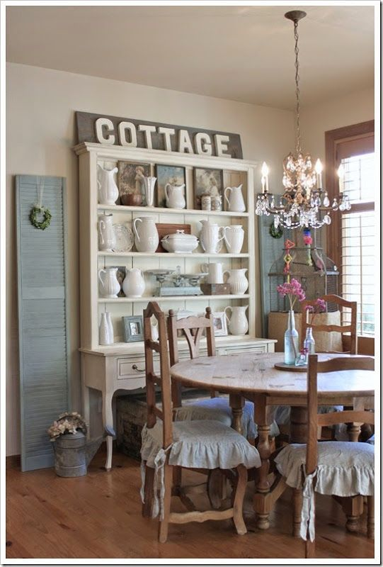 Cottage Decor Ideas For A Dining Room Rooms