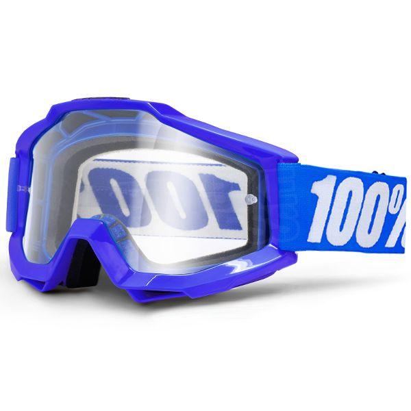 100/% ACCURI SAND Adult Goggles Smoke Lens GUNMETAL Offroad MX Motocross