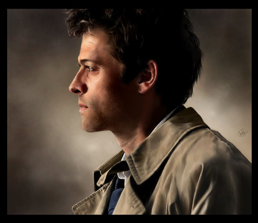 One Of My Favorite Castiel Artwork From Amandatolleson