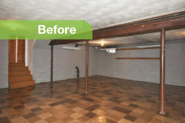 finished basement ideas low ceiling Google Search Basement