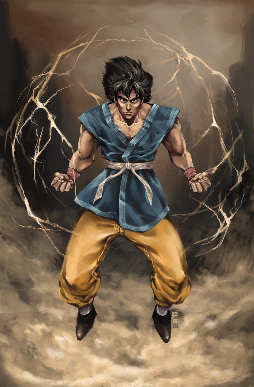 how to become a super saiyan in real life