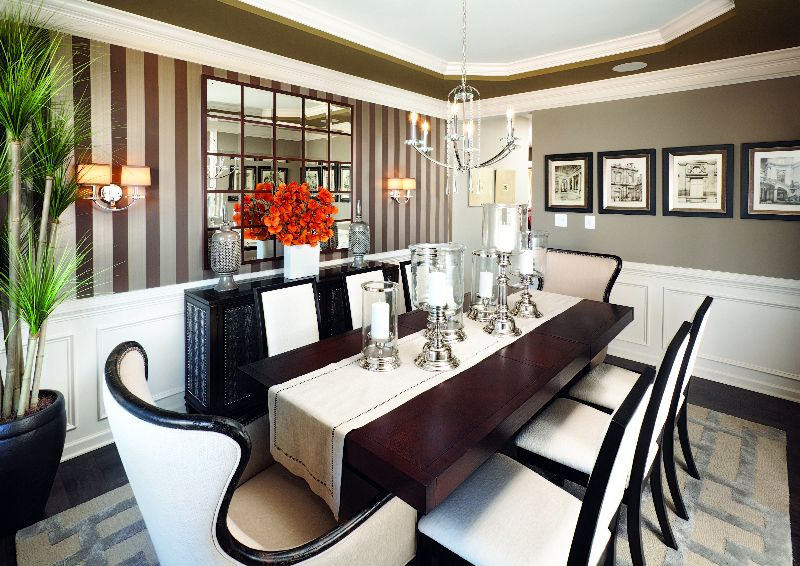Spice up your dining room with some stripes Toll Brothers at Lenah – Lenah Mill Site Plan